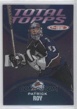 2002-03 Topps Total [???] #2 - Patrick Roy