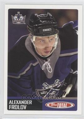 2002-03 Topps Total [???] #416 - Alex Frolov