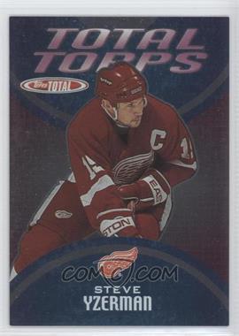 2002-03 Topps Total Total Topps #TT11 - Steve Yzerman