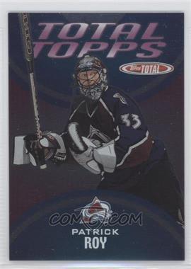 2002-03 Topps Total Total Topps #TT2 - Patrick Roy