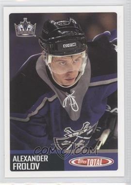 2002-03 Topps Total #416 - Alex Frolov
