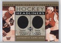 Jeremy Roenick, Simon Gagne