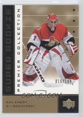 2002-03 Upper Deck Premier Collection [???] #91 - Ray Emery /199