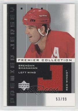 2002-03 Upper Deck Premier Collection Premier Jerseys Silver #BS - Brendan Shanahan /99