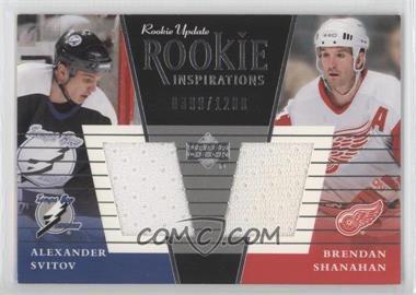2002-03 Upper Deck Rookie Update #149a - Alexander Svitov, Brendan Shanahan /1200