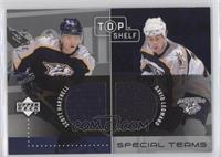 Scott Hartnell, David Legwand /99