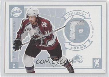 2002-03 Upper Deck Vintage Fundamentally Sound #SO-PF - Peter Forsberg