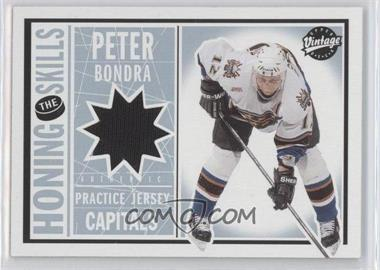 2002-03 Upper Deck Vintage Honing the Skills #HS-HS-PB - Peter Bondra