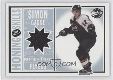 2002-03 Upper Deck Vintage Honing the Skills #HS-SG - Simon Gagne