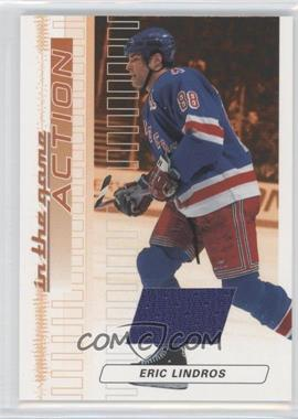 2003-04 In the Game Action Game-Used Jerseys #M-165 - Eric Lindros /100