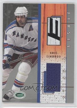 2003-04 In the Game Parkhurst Rookie Stick & Jersey #SJ-7 - Eric Lindros