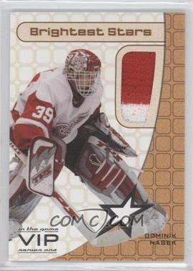 2003-04 In the Game VIP Brightest Stars #BS-N/A - Dominik Hasek /30