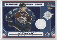 Game-Worn Jersey - Joe Sakic /90