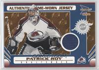 Game-Worn Jersey - Patrick Roy /185