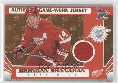 2003-04 Pacific Prism - [Base] #117 - Game-Worn Jersey - Brendan Shanahan /935