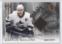 Authentic Game-Worn Jersey - Markus Naslund /875