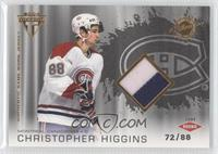 Authentic Game-Worn Jersey - Chris Higgins /88