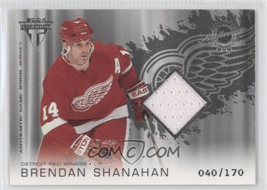 2003-04 Pacific Private Stock Titanium Retail #153 - Brendan Shanahan /170