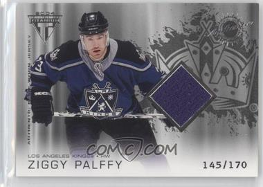 2003-04 Pacific Private Stock Titanium Retail #160 - Ziggy Palffy /170