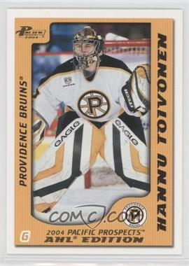 2003-04 Pacific Prospects AHL Edition - [Base] - Gold #69 - Hannu Toivonen /925