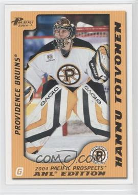 2003-04 Pacific Prospects AHL Edition Gold #69 - Hannu Toivonen /925