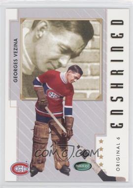 2003-04 Parkhurst Original Six Montreal Canadiens - [Base] #82 - Georges Vezina