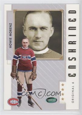 2003-04 Parkhurst Original Six Montreal Canadiens [???] #81 - Howie Morenz
