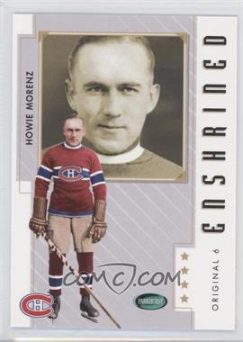 2003-04 Parkhurst Original Six Montreal Canadiens #81 - Howie Morenz