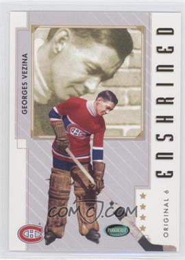 2003-04 Parkhurst Original Six Montreal Canadiens #82 - Georges Vezina