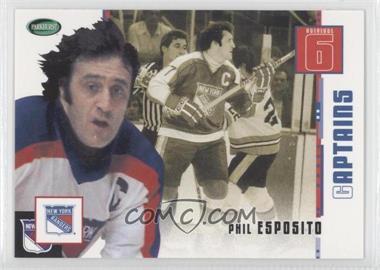 2003-04 Parkhurst Original Six New York Rangers - [Base] #74 - Phil Esposito
