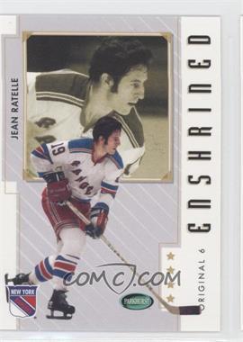 2003-04 Parkhurst Original Six New York Rangers - [Base] #83 - Jean Ratelle
