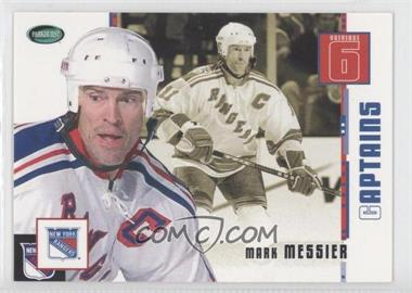 2003-04 Parkhurst Original Six New York Rangers [???] #71 - Mark Messier