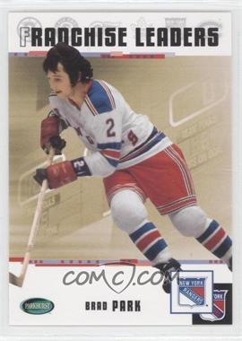 2003-04 Parkhurst Original Six New York Rangers [???] #97 - Brad Park