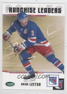 2003-04 Parkhurst Original Six New York Rangers [???] #99 - Brian Leetch