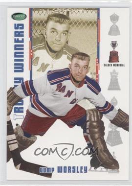 2003-04 Parkhurst Original Six New York Rangers [???] #NY-6 - Gump Worsley