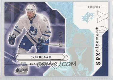 2003-04 SPx - [Base] #150 - Owen Nolan /750