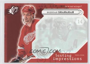 2003-04 SPx #127 - Brendan Shanahan /750