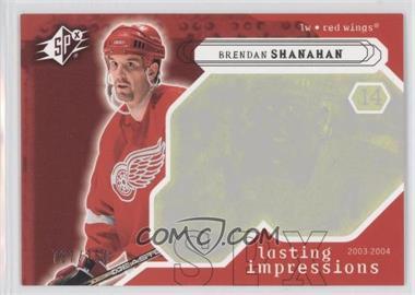 2003-04 SPx #127 - Brendan Shanahan