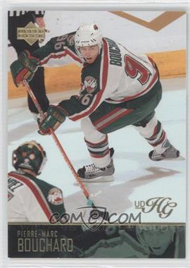 2003-04 Upper Deck - [Base] - UD High Gloss #96 - Pierre-Marc Bouchard /25