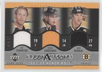 Sergei Samsonov, Joe Thornton, Glen Murray