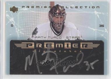 2003-04 Upper Deck Premier Collection Premier Signatures #PS-MT - Marty Turco