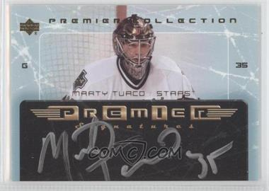 2003-04 Upper Deck Premier Collection Premier Signatures #PS-MT - Marty Turco