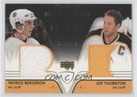 Patrice Bergeron, Joe Thornton /999
