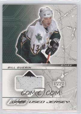 2003-04 Upper Deck UD Game Jerseys Series 1 #GJ-BG - Bill Guerin