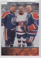 Wayne Gretzky, Mark Messier, Guy Lafleur, Guy Lapointe
