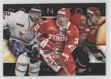 2004-05 Card Cabinet SHL Elitset Dominators #2 - Kristian Huselius, Henrik Zetterberg, Peter Forsberg