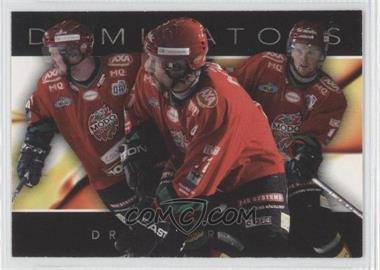 2004-05 Card Cabinet SHL Elitset Dominators #9 - Henrik Sedin, Peter Forsberg, Daniel Sedin