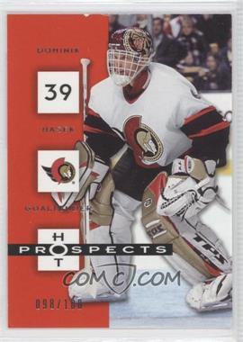 2004-05 Fleer Hot Prospects Red Hot #68 - Dominik Hasek /100