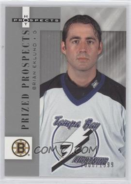 2004-05 Fleer Hot Prospects #104 - Brian Eklund /1999