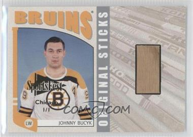 2004-05 In the Game Franchises US East Edition Original Sticks Silver SportsFest Chicago #EOS-18 - Johnny Bucyk /1
